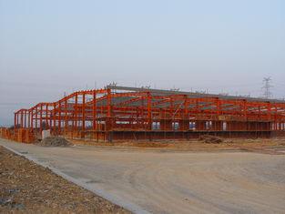 Китай Промышленные структурные стальные изделия заключая контракт, системы полуфабрикат стали обрамляя поставщик