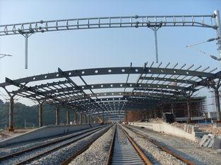 Китай Здания ферменной конструкции структурного металла железнодорожного вокзала, картина Ржавчин-доказательства с 2-4 наслаивают поставщик
