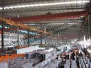 Полуфабрикат промышленные стальные здания, здания одиночной пяди стальные структурные для склада