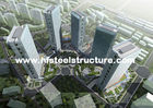 Китай Заварка OEM полуфабрикат, здания промышленной стали металла тормозящ, свертывать и красить завод
