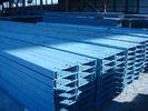 Китай Гальванизированные стальные Purlinss и Girts для промышленных зданий, гаражей, Verandahs завод