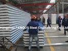 Китай Рифлёный стальной толь металлического листа толя покрывает шерсти утеса PU EPS панели сандвича завод