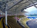 Стадион большой пяди изготовлений стальной структуры стальной трубы принятый ферменной конструкцией