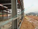 Китай Здания ASTM ASD полуфабрикат стальные, Pre проектированные 85' мастерские проекта электростанции x 100 ' завод