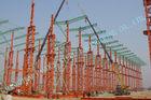 Китай Промышленная сталь ASTM - обрамленные здания, здания металла Multipan Prefab 75 x 120 завод