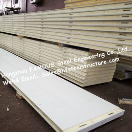 Плотность панели 12кг холодной комнаты полиуретана материала изоляции для холодильных установок