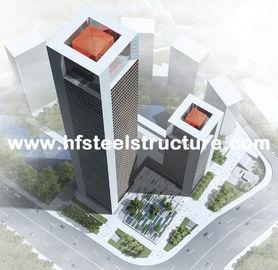 Промышленное полуфабрикат здание Prefab железного каркаса, здание Multi-Этажа стальное