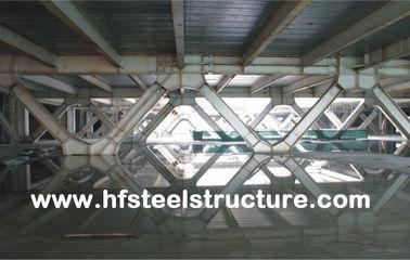 Здание обрамляя системы и полуфабрикат Multi-Этажа офиса стальное для мола, гостиницы