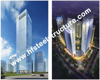Изготовленное на заказ полуфабрикат промышленное Q235, здание стального Multi-этажа хранения Q345 стальное