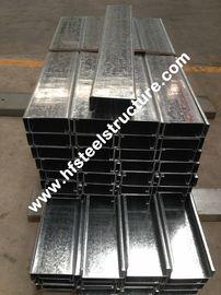 Горячие окунутые гальванизированные стальные Purlines путем гальванизировать стальную прокладку для дома Prefab