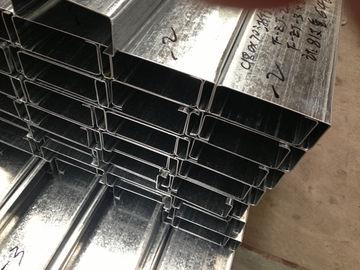 Q235 Q345 гальванизировало c и Purlins z стальные с толщиной покрытия цинка 275g/m2