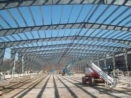 Стальной здание Pre-проектированное конюшней для больших торговых центров