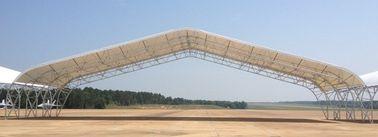 Полуфабрикат стальные пронзительные здания ангара Айркрафта ферменной конструкции с большой пядью