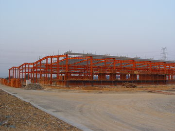 Промышленные структурные стальные изделия заключая контракт, системы полуфабрикат стали обрамляя