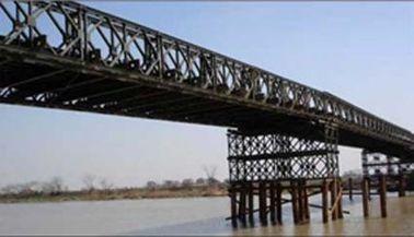 Горячее погружение гальванизированное и сваренное, тормозящ, свертывающ, режа структурный мост Bailey