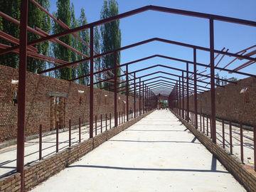 Cowshed и конструкция полуфабрикат стальной структурной мастерской пакгауза стальной