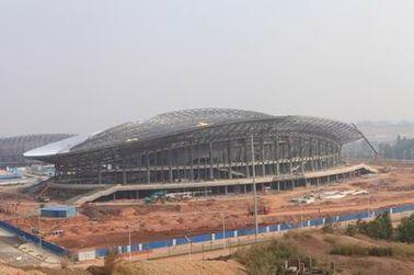 Структура OEM стальная, полуфабрикат здания ферменной конструкции металла трубы и стадионы спортов