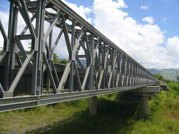 Электрический гальванизированный, покрашенный и смолотый полуфабрикат мост Bailey структурной стали